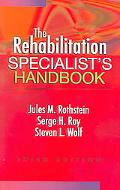 Rehabilitation Specialist's Handbook