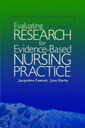 Evaluating Nursing Research for Evidence Based Practice