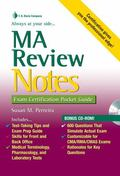 MA Review Notes: Exam Certification P
