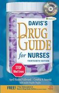 Davis's Drug Guide for Nurses with CD