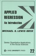 Applied Regression An Introduction