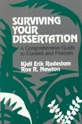 Surviving Your Dissertation