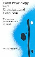 Work Psychology and Organizational Behavior