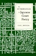 Introduction to Japanese Court Poetry