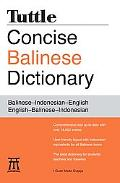 Balinese Dictionary: Balinese-Indonesian-English English-Balinese-Indonesian