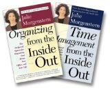 Julie Morgenstern Organizing From the Inside Out Two-Book Set (Organizing From the Inside Ou...