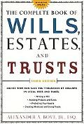 Complete Book of Wills, Estates, & Trusts