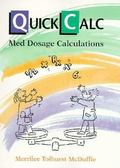 Quickcalc Med Dosage Calculations Med Dosage Calculations
