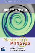 Student Access Kit for Mastering Physics for Algebra-based Physics