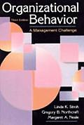 Organizational Behavior A Management Challenge