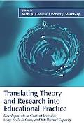 Translating Theory And Research into Educational Practice Developments in Content Domains, L...