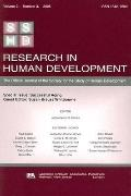 Successful Aging A Special Issue of Research in Human Development