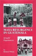 Maya Resurgence in Guatemala Q'Eqchi' Experiences