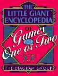 Little Giant Encyclopedia of Games for One or Two - The Diagram Group - Hardcover