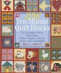 336 Ten-Minute Quilt Blocks: To Foundation-Piece and Quick-Piece, Nosew Applique, Stamp, Ste...