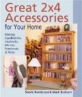 Great 2X4 Accessories for Your Home Making Candlesticks, Coatracks, Mirrors, Footstalls & More