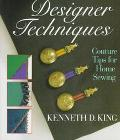 Designer Tricks for Sewing Machines and Serger - Kenneth D. King - Hardcover