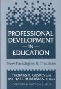 Professional Development in Education New Paradigms and Practices