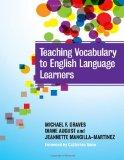 Teaching Vocabulary to English Language Learners (Language and Literacy Series)
