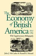 The Economy of British America, 1607-1789 - John J. McCusker - Paperback