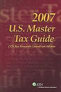 U.S. Master Tax Guide, 2007 CCH Tax Research Consultant Edition