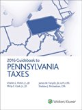 Pennsylvania Taxes, Guidebook to (2016)