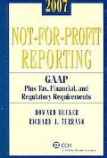 Not-for-profit Reporting, 2007