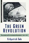 Green Revolution The American Environmental Movement, 1962-199