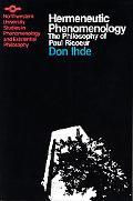 Hermeneutic Phenomenology The Philosophy of Paul Ricoeur