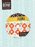 Reprodepot Pattern Book: Flora: 225 Vintage-Inspired Textile Designs (Reprodepot's Pattern B...