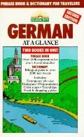 German at a Glance: Phrase Book and Dictionary for Travelers