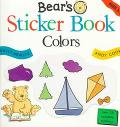 Bear's Sticker Book: Colors