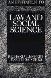 Invitation to Law and Social Science Deserts, Disputes and Distribution