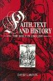 Faith, Text, and History The Bible in English