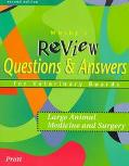 Mosby's Review Questions & Answers for Veterinary Boards Large Animal Medicine and Surgery