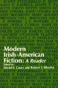 Modern Irish-American Fiction A Reader