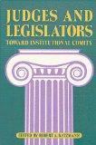 Judges and Legislators: Toward Institutional Comity