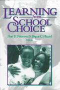 Learning From School Choice