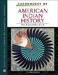 Chronology of American Indian History The Trail of the Wind