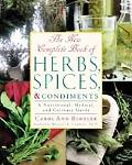 New Complete Book of Herbs, Spices, and Condiments