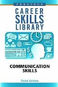 Communication Skills (Career Skills Library)