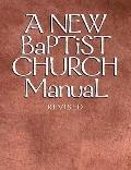New Baptist Church Manual