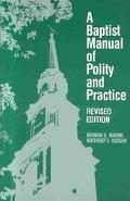 Baptist Manual of Polity and Practice