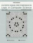 11th Annual IEEE Symposium on Logic in Computer Science July 27-30, 1996 New Brunswick, New ...