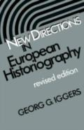 New Directions in European Historiography