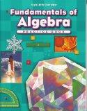 Fundamentals of Algebra Practice Book (Progress in Mathematics)
