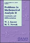 Problems in Mathematical Analysis Continuity & Differentiation
