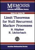 Limit Theorems for Null Recurrent Markov Processes (Memoirs of the American Mathematical Soc...