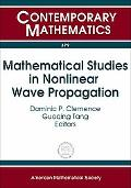 Mathematical Studies In Nonlinear Wave Propagation Nsf-cbms Regional Research Conference On ...