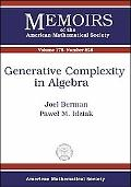 Generative Complexity In Algebra